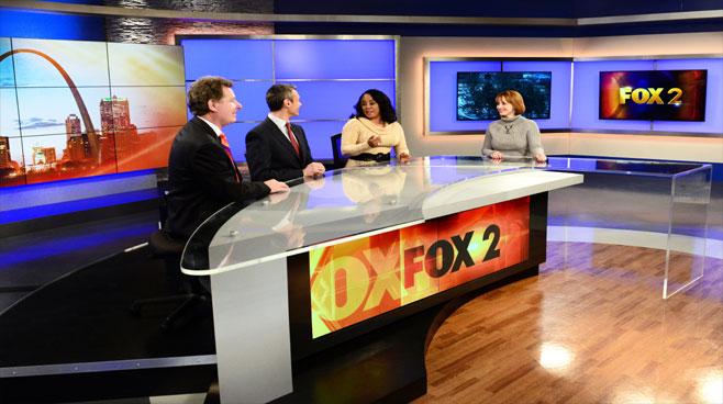 KTVI - St. Louis, MO - News Sets Set Design - 4