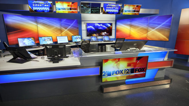 KTVI - St. Louis, MO - Weather Centers Set Design - 1