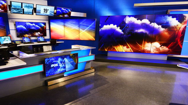KTVI - St. Louis, MO - Weather Centers Set Design - 2
