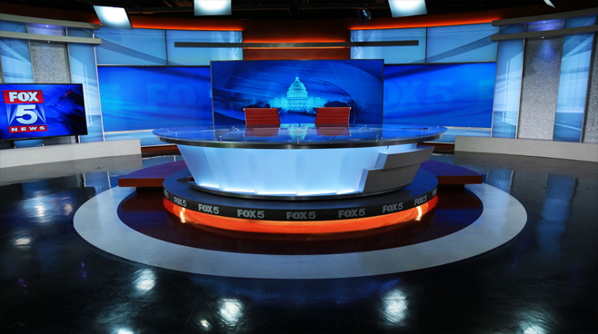 WTTG - Washington DC - News Sets Set Design - 1