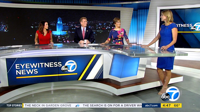 KABC - Los Angeles - News Sets Set Design - 10