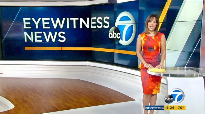 KABC - Los Angeles - News Sets Set Design - 2