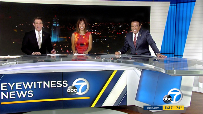 KABC - Los Angeles - News Sets Set Design - 4