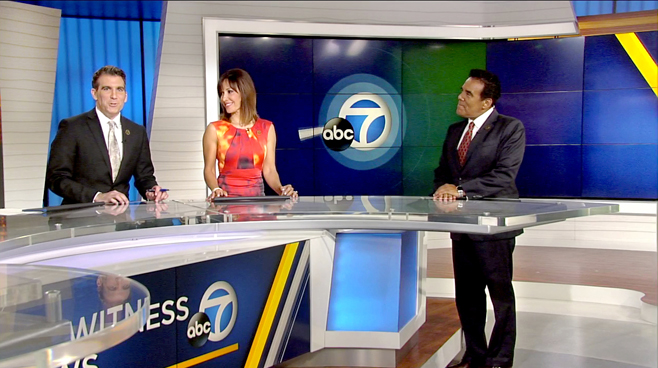 KABC - Los Angeles - News Sets Set Design - 5