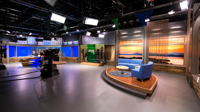 KCPQ - Seattle, WA - News Sets Set Design - 5