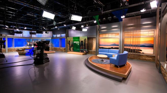 KCPQ - Seattle, WA - News Sets Set Design - 5