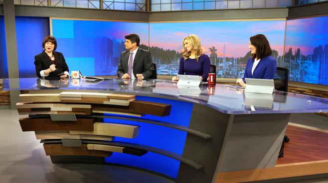 KCPQ - Seattle, WA - News Sets Set Design - 3