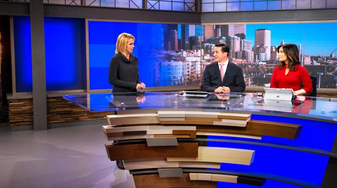 KCPQ - Seattle, WA - News Sets Set Design - 6