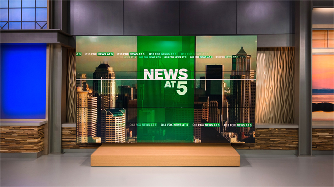 KCPQ - Seattle, WA - News Sets Set Design - 8