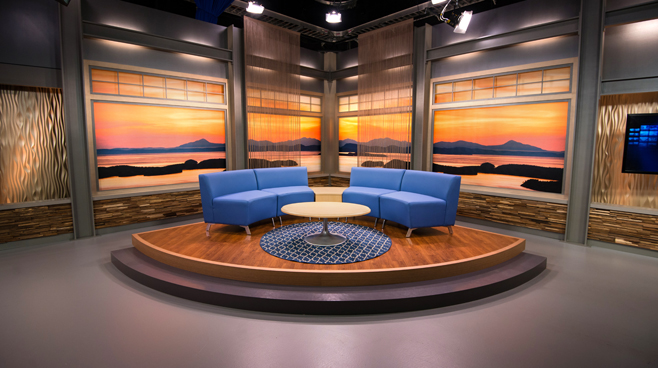 KCPQ - Seattle, WA - News Sets Set Design - 9