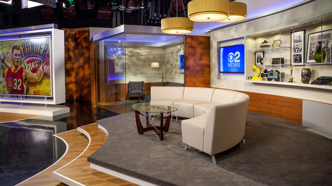 KCBS - Los Angeles, CA   - News Sets Set Design - 9