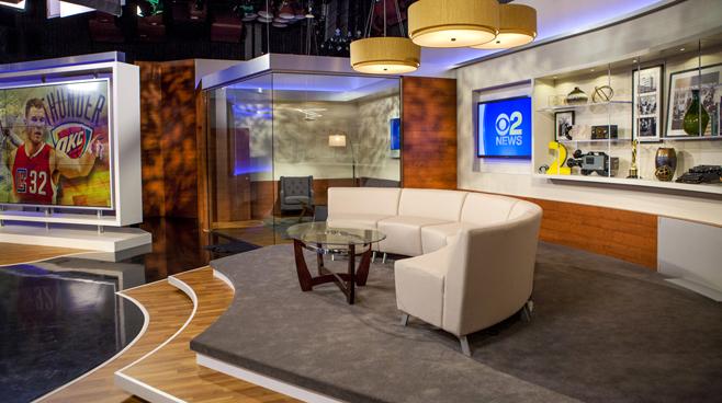 KCBS - Los Angeles, CA   - News Sets Set Design - 9