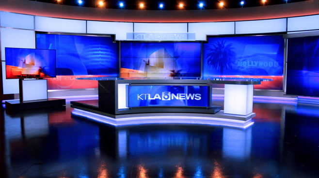 KTLA - Los Angeles, CA - News Sets Set Design - 7