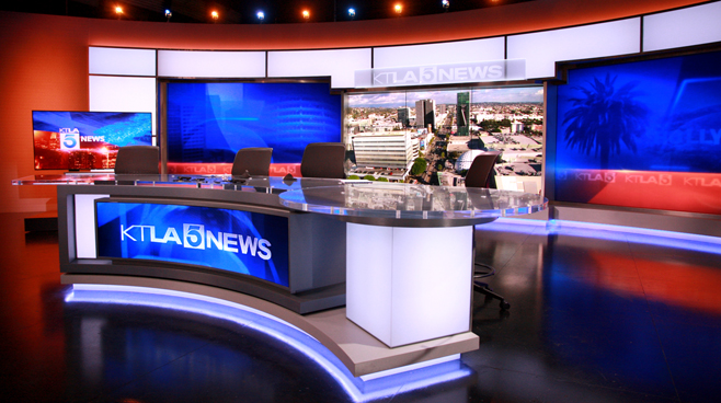 KTLA - Los Angeles, CA - News Sets Set Design - 8