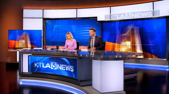 KTLA - Los Angeles, CA - News Sets Set Design - 9