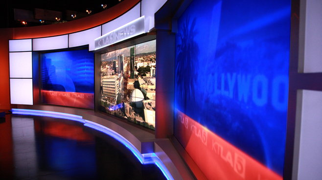 KTLA - Los Angeles, CA - News Sets Set Design - 11