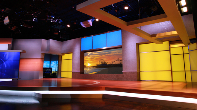 KTLA - Los Angeles, CA - News Sets Set Design - 12