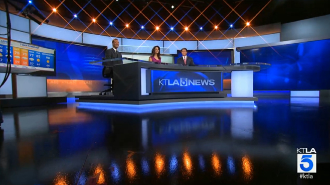 KTLA - Los Angeles, CA - News Sets Set Design - 2