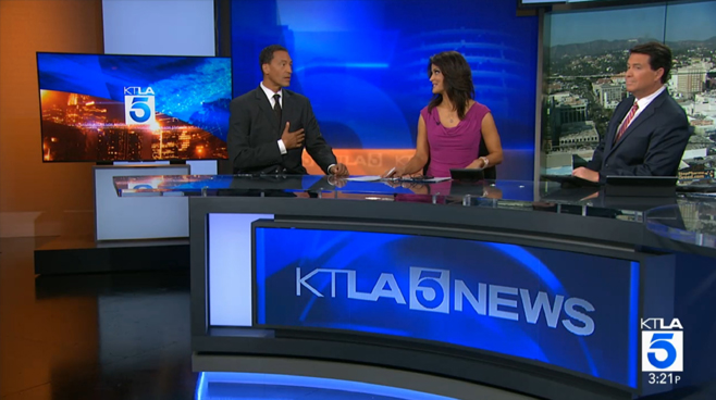 KTLA - Los Angeles, CA - News Sets Set Design - 4