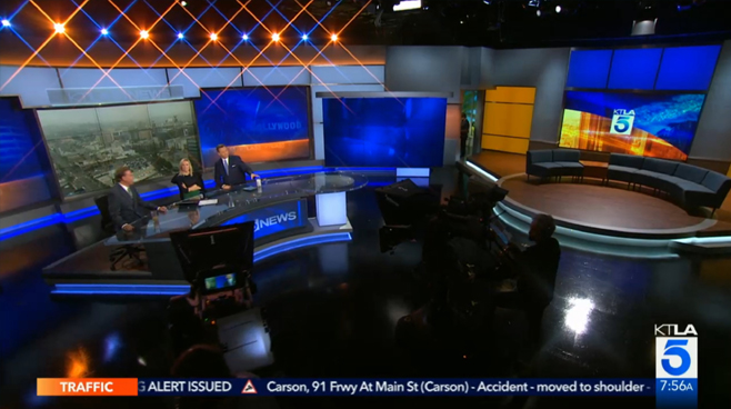 KTLA - Los Angeles, CA - News Sets Set Design - 5