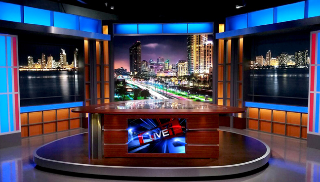 Candor - San Marcos, CA - News Sets Set Design - 1