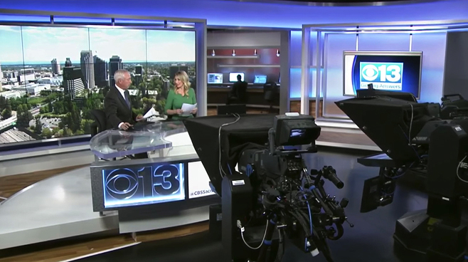 KOVR - Sacramento, CA - News Sets Set Design - 1