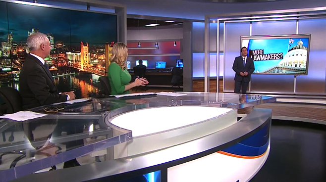 KOVR - Sacramento, CA - News Sets Set Design - 6