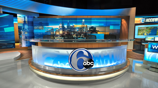 WPVI - Phiadelphia, PA - News Sets Set Design - 2