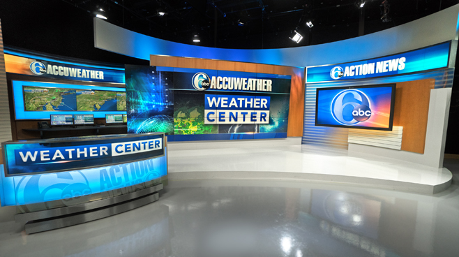 WPVI - Phiadelphia, PA - News Sets Set Design - 6