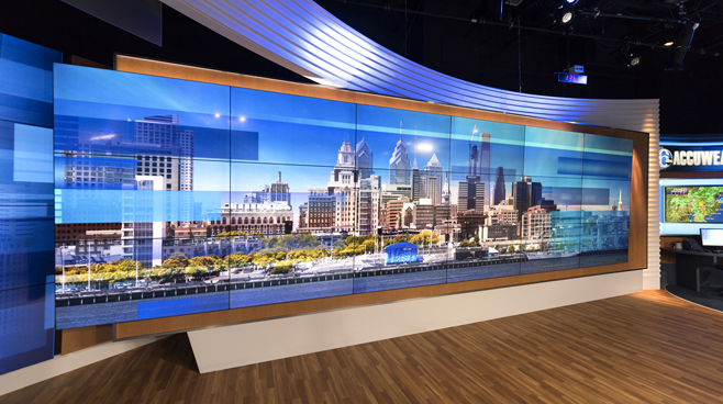 WPVI - Phiadelphia, PA - News Sets Set Design - 5
