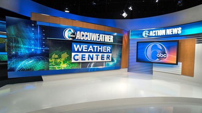 WPVI - Phiadelphia, PA - News Sets Set Design - 8