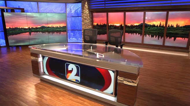KWGN - Denver, CO - News Sets Set Design - 1