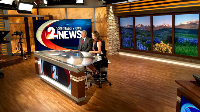 KWGN - Denver, CO - News Sets Set Design - 5