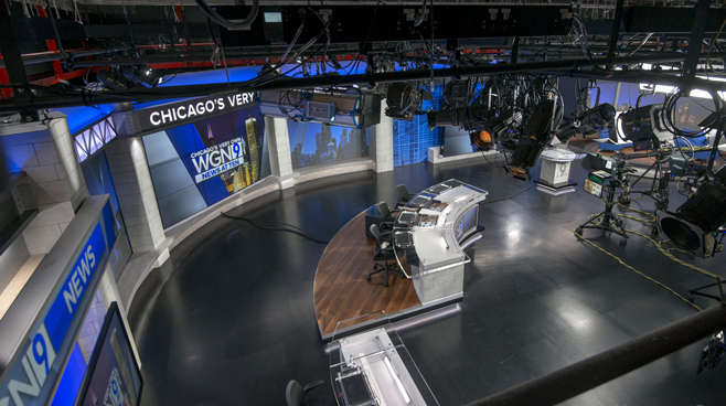 WGN - Chicago, IL - News Sets Set Design - 14