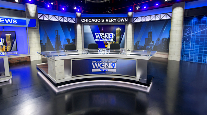 WGN - Chicago, IL - News Sets Set Design - 2