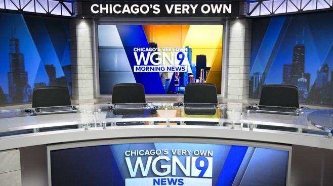 WGN - Chicago, IL - News Sets Set Design - 3