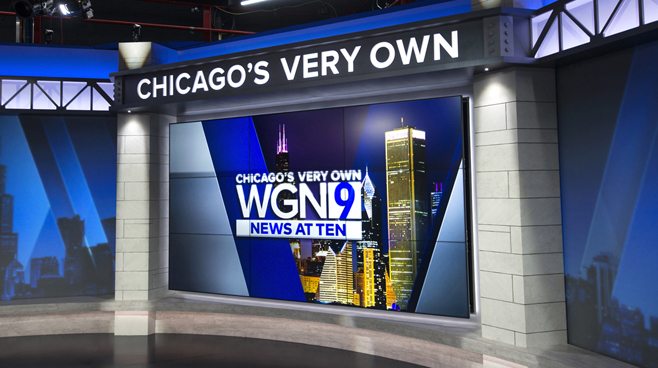 WGN - Chicago, IL - News Sets Set Design - 8