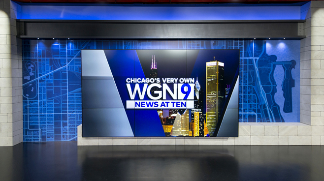 WGN - Chicago, IL - News Sets Set Design - 9