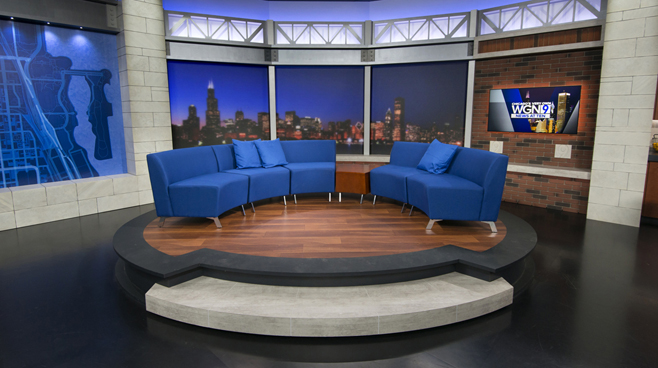 WGN - Chicago, IL - News Sets Set Design - 12