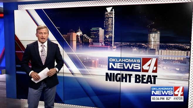 KFOR - Oklahoma City, OK - News Sets Set Design - 3