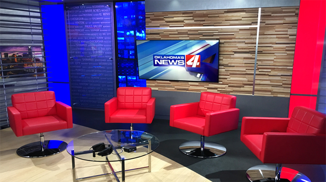 KFOR - Oklahoma City, OK - News Sets Set Design - 4
