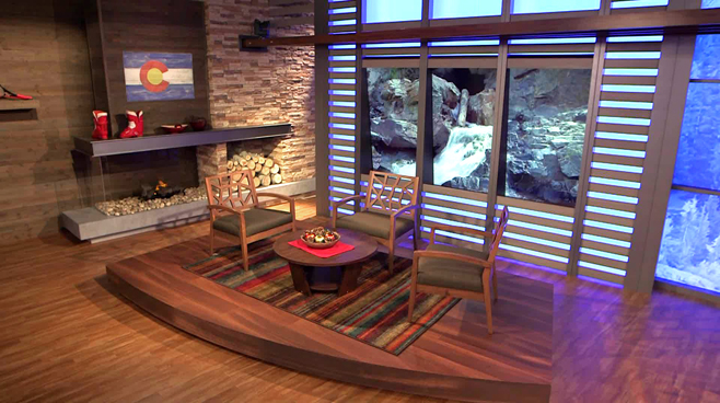 KWGN - Denver, CO - Talk Shows Set Design - 1