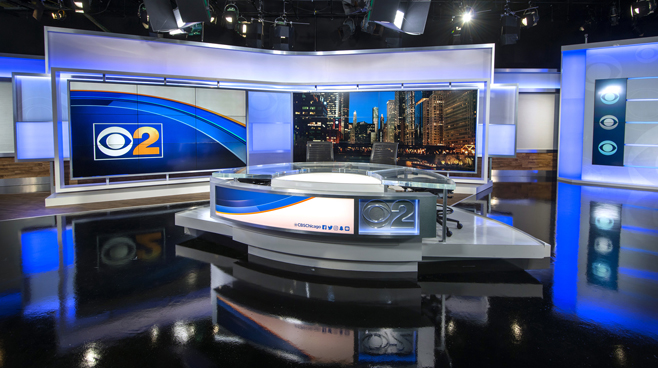 WBBM - Chicago, IL - News Sets Set Design - 5