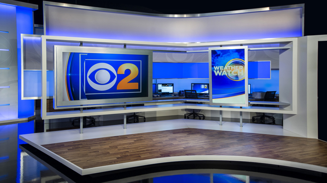WBBM - Chicago, IL - Weather Centers Set Design - 2