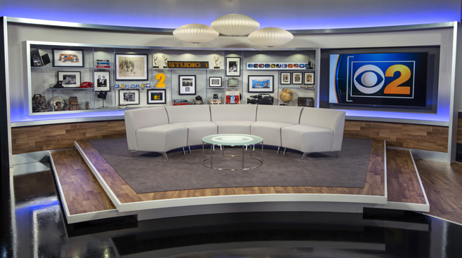 WBBM - Chicago, IL - News Sets Set Design - 9