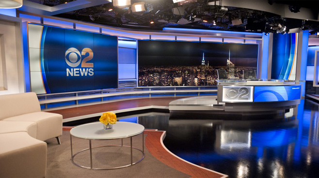 WCBS - New York, NY - News Sets Set Design - 5