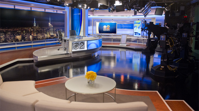 WCBS - New York, NY - News Sets Set Design - 6