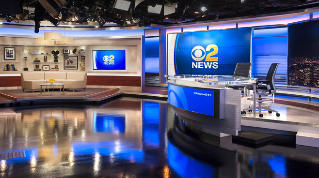 WCBS - New York, NY - News Sets Set Design - 7