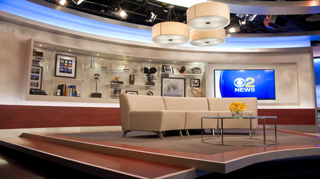 WCBS - New York, NY - News Sets Set Design - 8