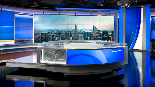 WCBS - New York, NY - News Sets Set Design - 3